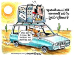 Проблема собаки Ромни возвращается на поверхность
