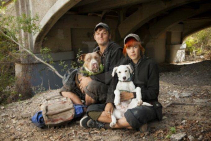 Фотограф показал связь между бездомными и их домашними животными