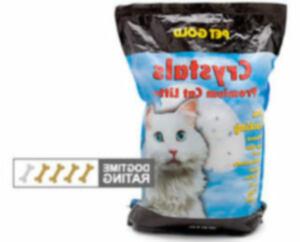Хрустальный или жемчужный наполнитель для кошачьего туалета