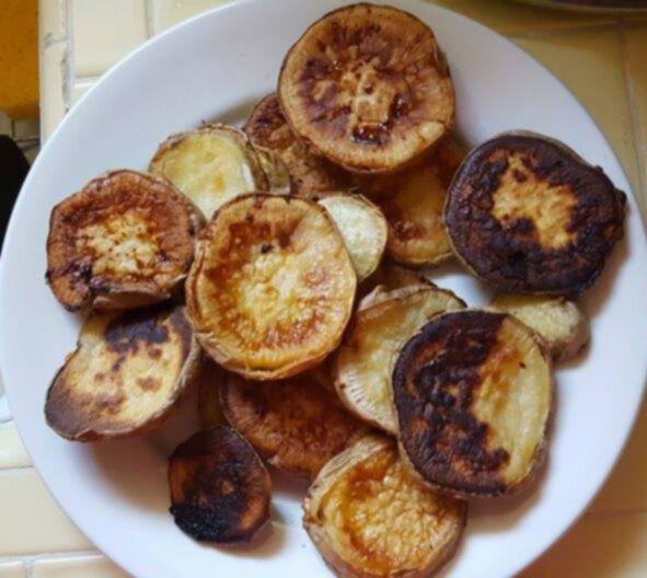 Супер легкие лакомства из сладкого картофеля для щенков